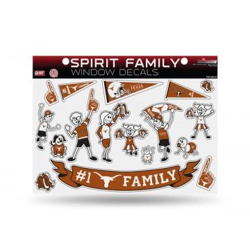 Texas Longhorns Family Decal Set