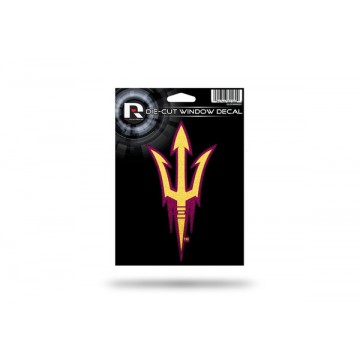 Arizona State Sun Devils Glitter Die Cut Vinyl Decal