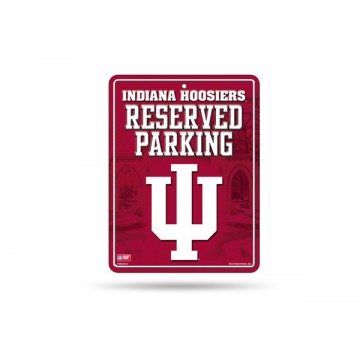Indiana Hoosiers Metal Parking Sign