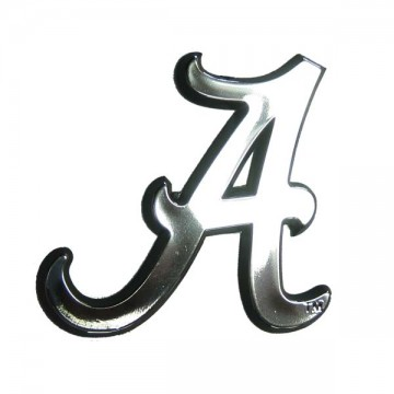 Alabama Crimson Tide NCAA Chrome Auto Emblem