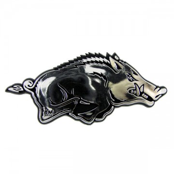 Arkansas Razorbacks NCAA Chrome Auto Emblem