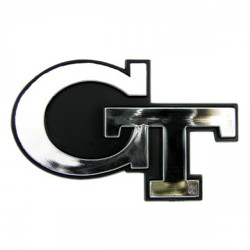 Georgia Tech Yellow Jackets NCAA Chrome Auto Emblem