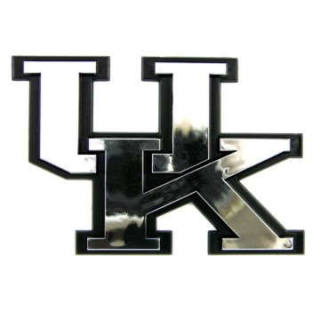 Kentucky Wildcats NCAA Chrome Auto Emblem