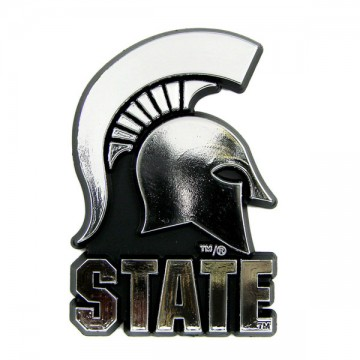 Michigan State Spartans NCAA Chrome Auto Emblem
