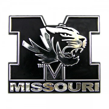 Missouri Tigers NCAA Chrome Auto Emblem