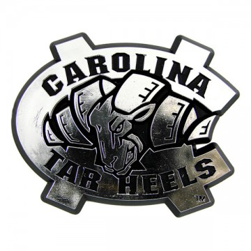 North Carolina Tar Heels NCAA Chrome Auto Emblem