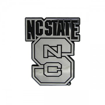 North Carolina State Wolfpack NCAA Chrome Auto Emblem