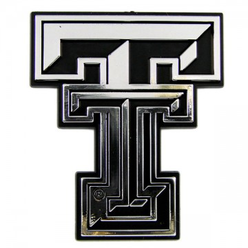 Texas Tech Red Raiders NCAA Chrome Auto Emblem