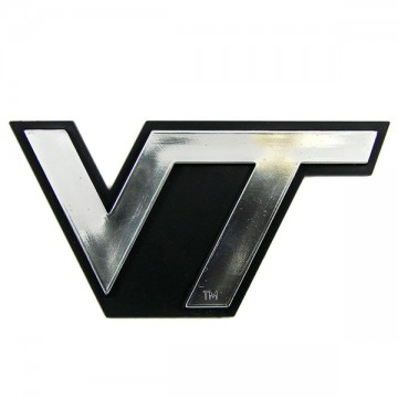 Virginia Tech Hokies NCAA Chrome Auto Emblem