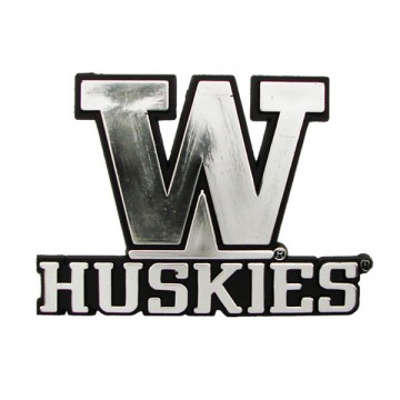 Washington Huskies NCAA Chrome Auto Emblem