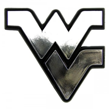 West Virginia Mountaineers NCAA Chrome Auto Emblem