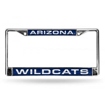 Arizona Wildcats Laser Chrome License Plate Frame