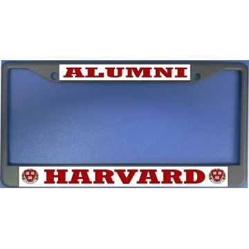Harvard Alumni Photo License Plate Frame