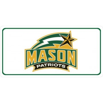 George Mason University Photo License Plate