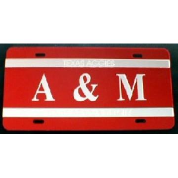 Texas A&M Laser Team Plate
