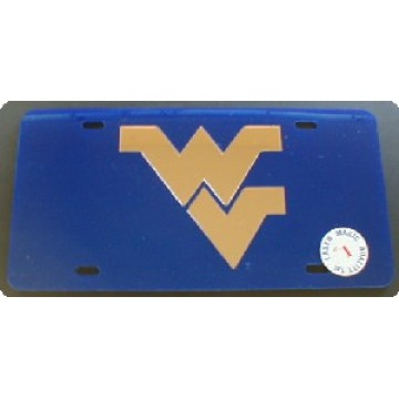 West Virginia Laser Team License Plate