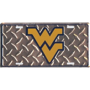 West Virginia University Mountaineers License Plate