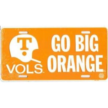 Tennessee Vols Helmet License Plate
