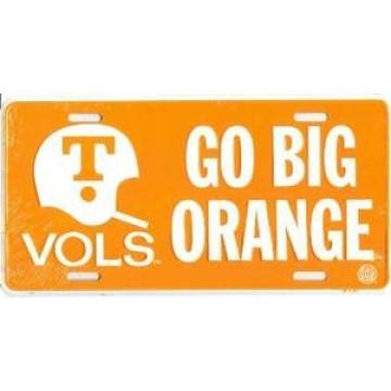 Tennessee Vols Helmet License Plate
