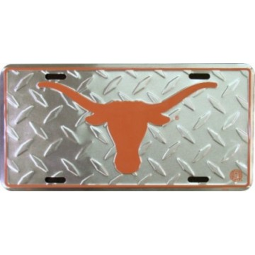 Texas Longhorns Diamond License Plate