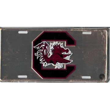 South Carolina Gamecocks Anodized License Plate