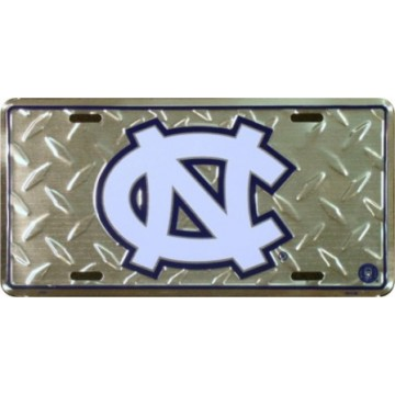 North Carolina Tarheels Diamond License Plate