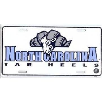 North Carolina Tar Heels Metal License Plate