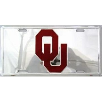 Oklahoma Sooners Anodized License Plate