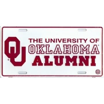 Oklahoma Sooners Alumni License Plate