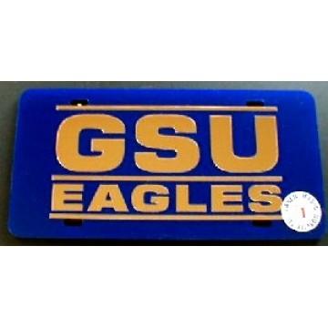 Georgia State University Laser Team Plate