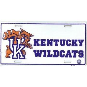 Kentucky Wildcats License Plate