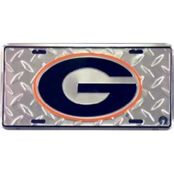 Georgia Bulldogs Diamond License Plate