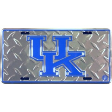 Kentucky Wildcats Diamond License Plate