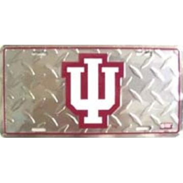 Indiana University Diamond License Plate
