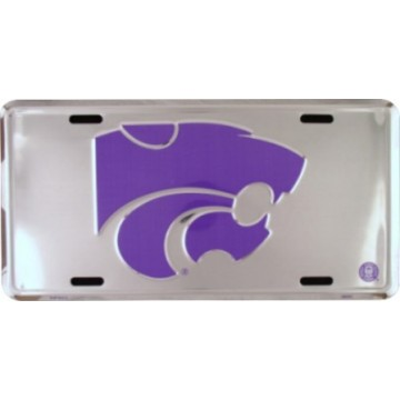 Kansas State Wildcats Anodized License Plate
