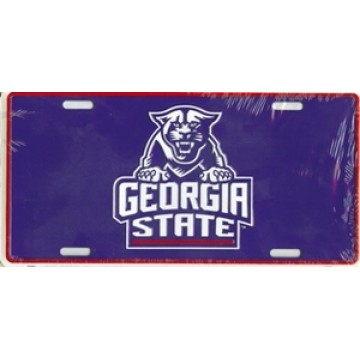 Georgia State University Panthers License Plate