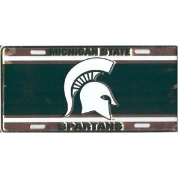 Michigan St. Spartans License Plate