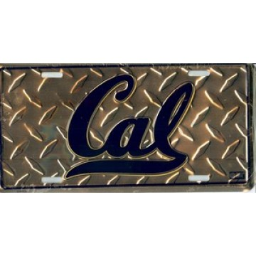 California Berkeley Diamond License Plate