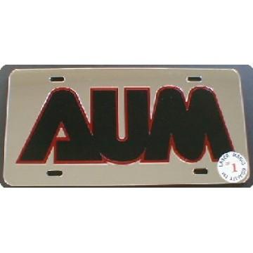 Auburn University Memphis Laser Team Plate