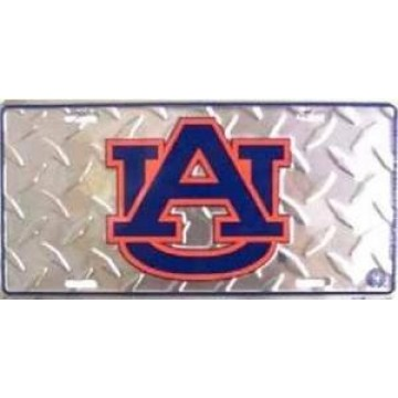 Auburn Tigers Diamond License Plate