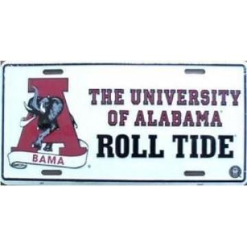 Alabama Roll Tide License Plate