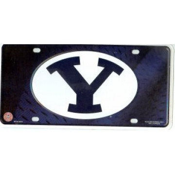 Brigham Young BYU Metal License Plate