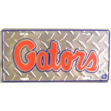 Florida Gators College Diamond License Plate
