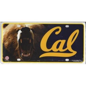 California Berkeley Metal License Plate