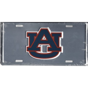 Auburn Tigers Anodized License Plate