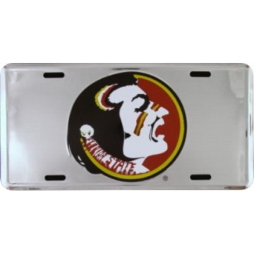 Florida State Seminoles Anodized License Plate