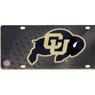 Colorado Buffaloes Metal License Plate