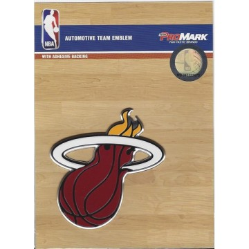 Miami Heat Full Color Auto Emblem