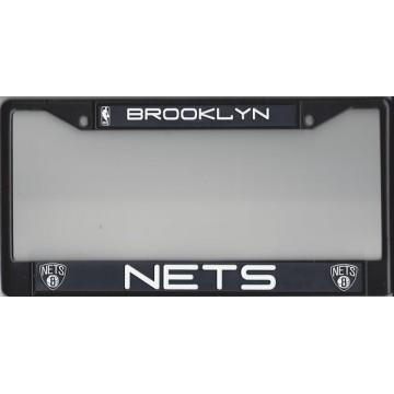 Brooklyn Nets Black License Plate Frame