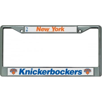 New York Knickerbockers License Plate Frame